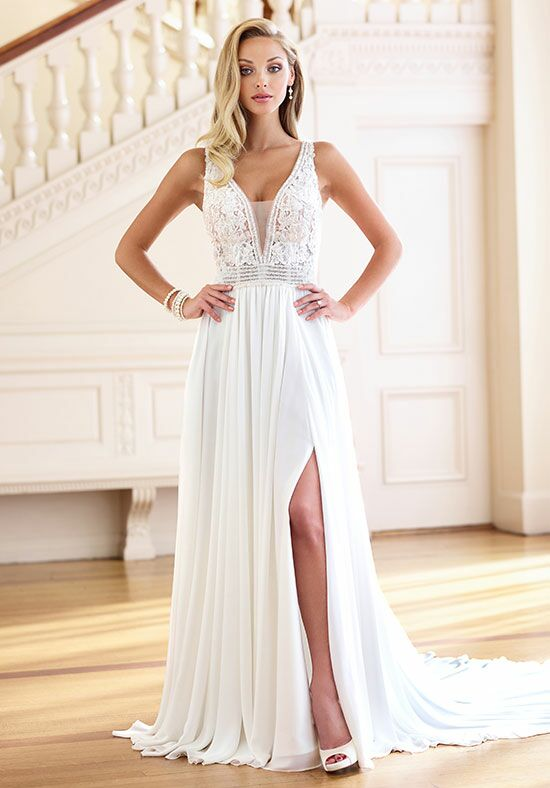 Enchanting by Mon Cheri 218176 A-Line Wedding Dress
