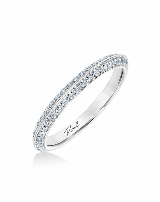 KARL LAGERFELD Elegant Cut Engagement Ring