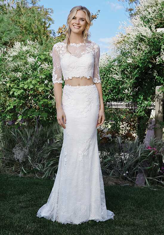 Lillian West 6441 Sheath Wedding Dress