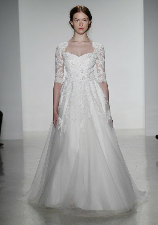Kelly faetanini lena wedding dress the knot for How do you preserve a wedding dress