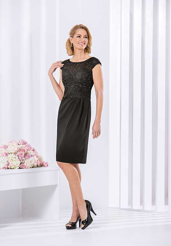 Jasmine Black Label M180058 Black Mother Of The Bride Dress