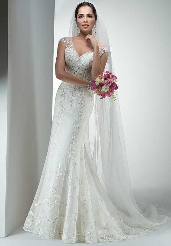 Maggie Sottero Fleur A-Line Wedding Dress