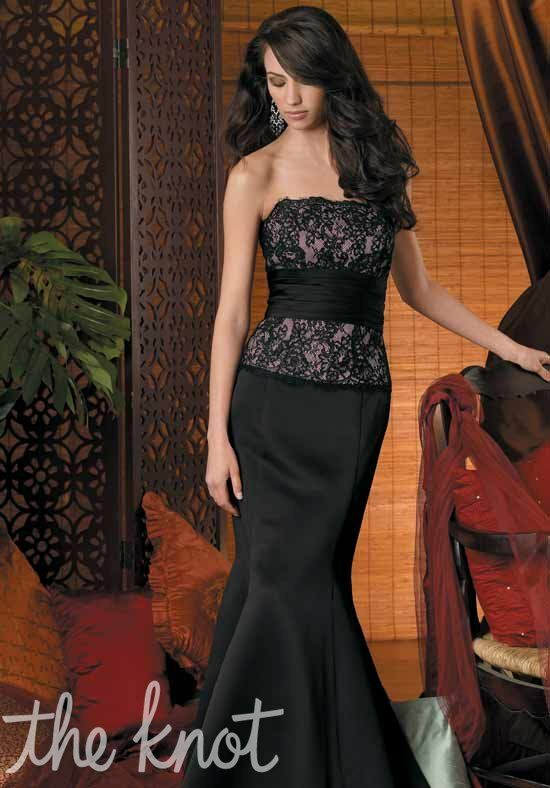 Couture Collection 1800 Strapless Bridesmaid Dress