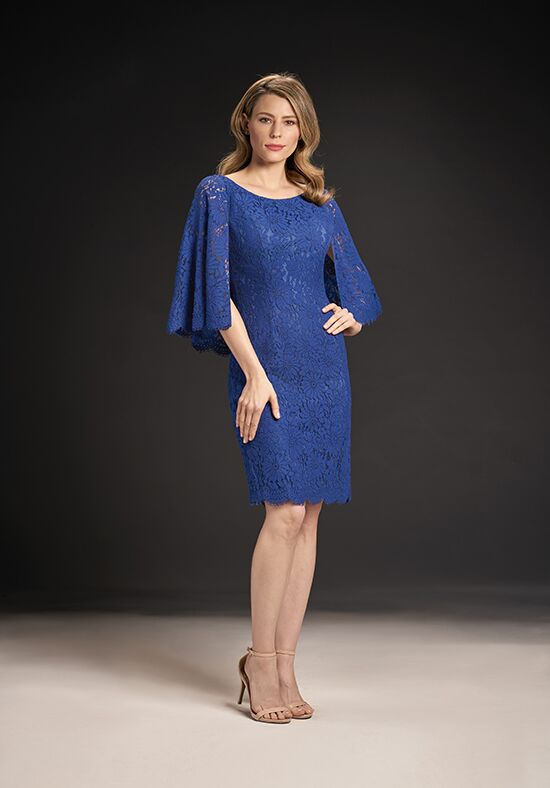Jasmine Black Label M190061 Blue Mother Of The Bride Dress