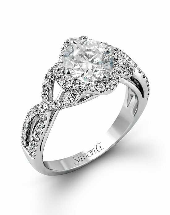 Simon G. Jewelry MR2000 Engagement Ring photo