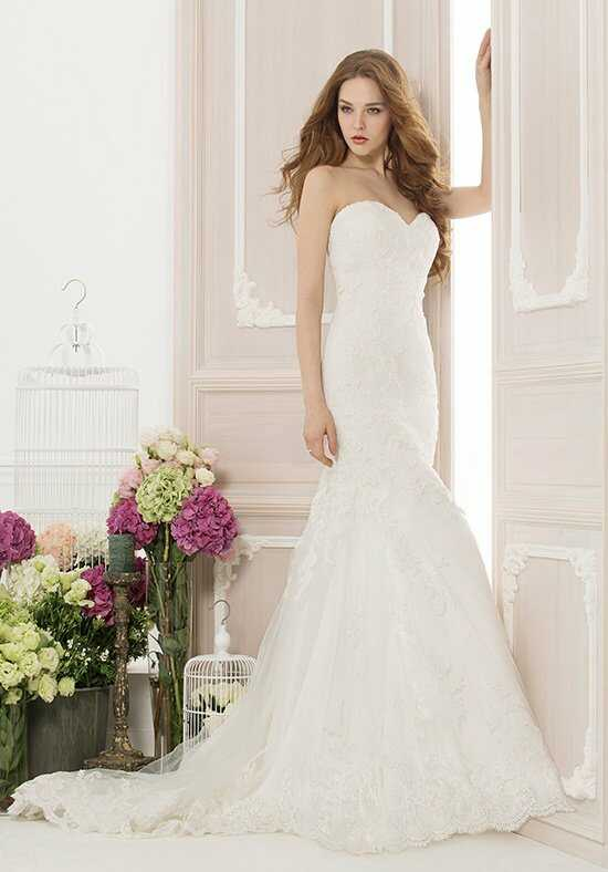 Jasmine Collection F151064 Mermaid Wedding Dress