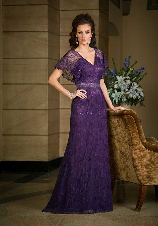 Jade Couture K168061 Purple Mother Of The Bride Dress