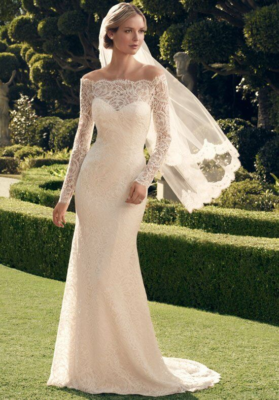 Casablanca Bridal 2169 Sheath Wedding Dress