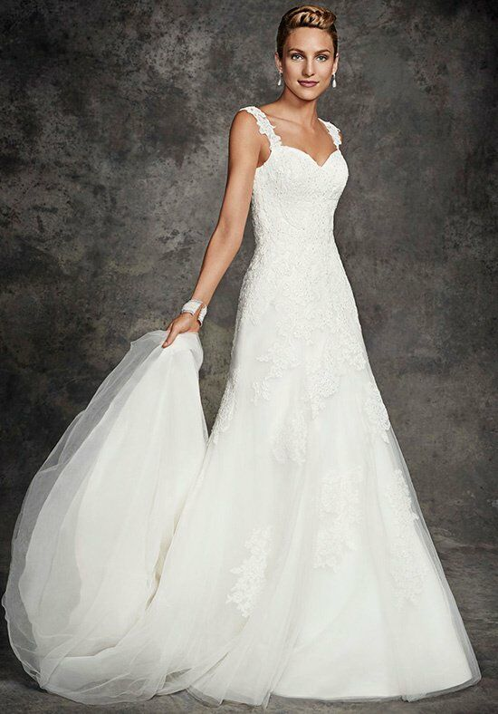 Ella Rosa BE263 A-Line Wedding Dress