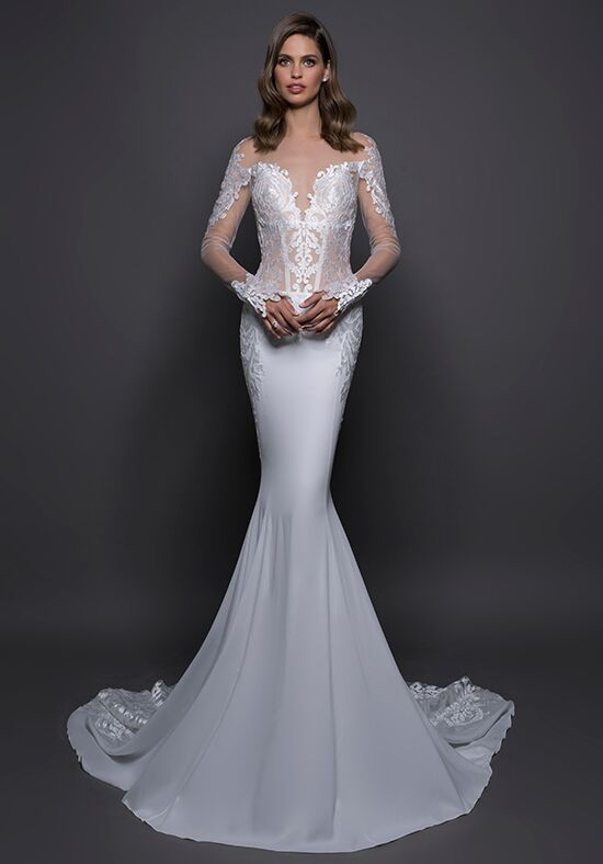 LOVE by Pnina Tornai for Kleinfeld 14593 Sheath Wedding Dress
