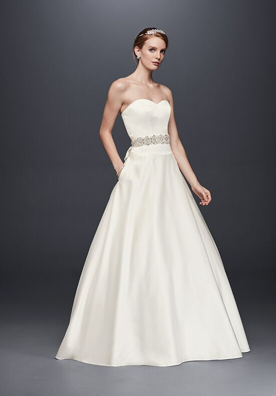 David's Bridal David's Bridal Collection Style WG3828 Ball Gown Wedding Dress
