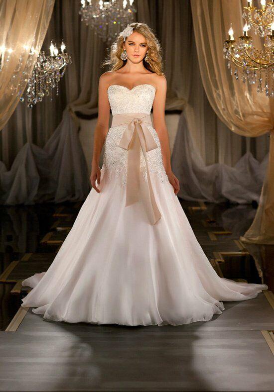Martina Liana 411 3 Mermaid Wedding Dress