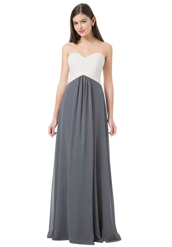 Bill Levkoff 1223 Strapless Bridesmaid Dress
