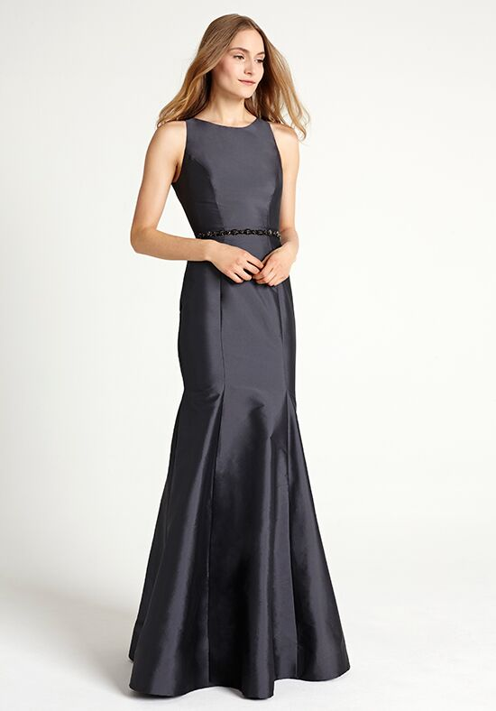 Monique Lhuillier Bridesmaids 450304 Bateau Bridesmaid Dress