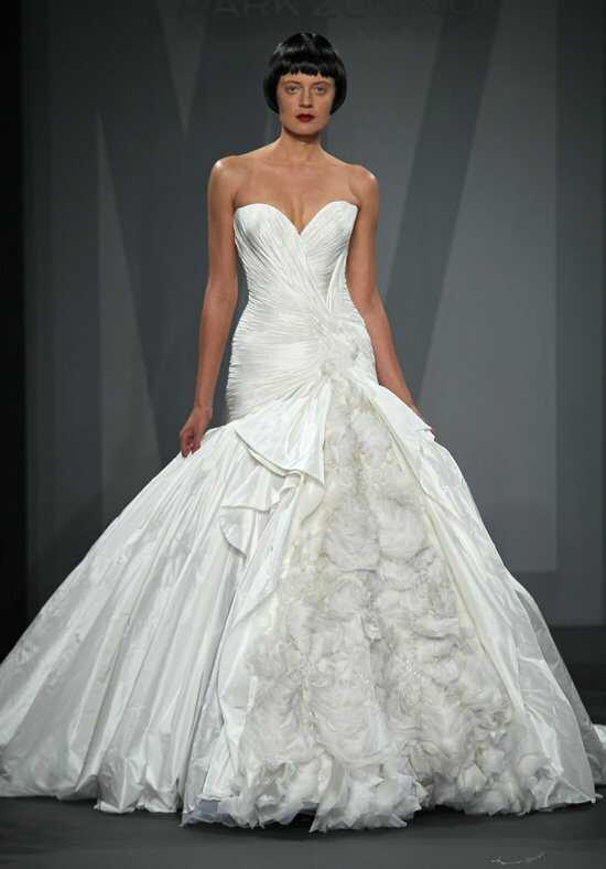 Mark Zunino for Kleinfeld 73 Ball Gown Wedding Dress