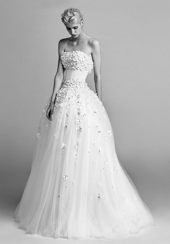 Flower Bride Dress
