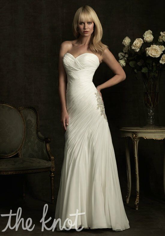 Allure Bridals 8909 A-Line Wedding Dress