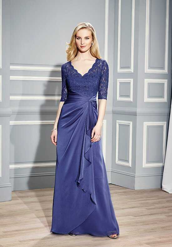 Val Stefani Celebrations MB7443 Purple Mother Of The Bride Dress