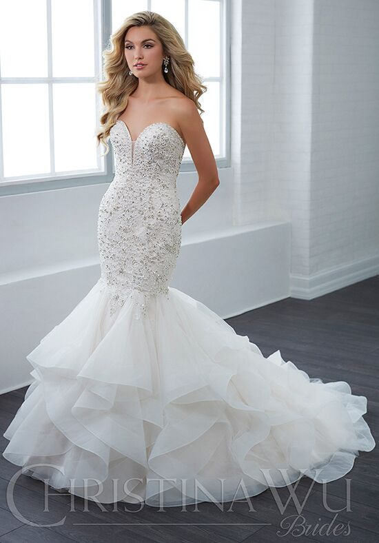 Christina Wu 15662 Mermaid Wedding Dress