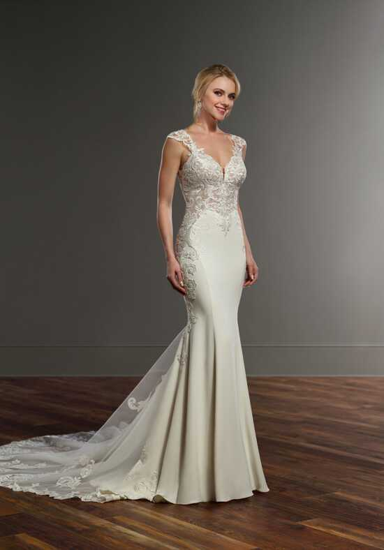 Martina Liana 921 Sheath Wedding Dress
