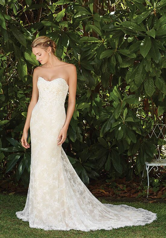 Champagne Wedding Dress Love Forever