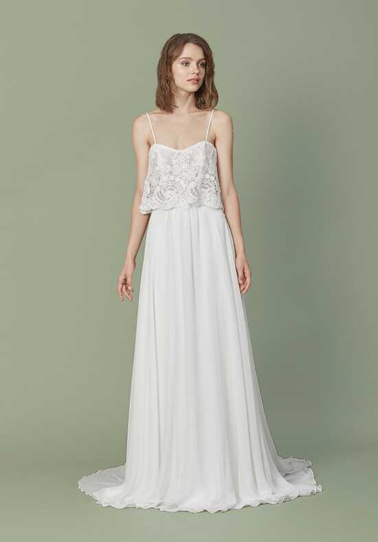 Christos Winona Sheath Wedding Dress