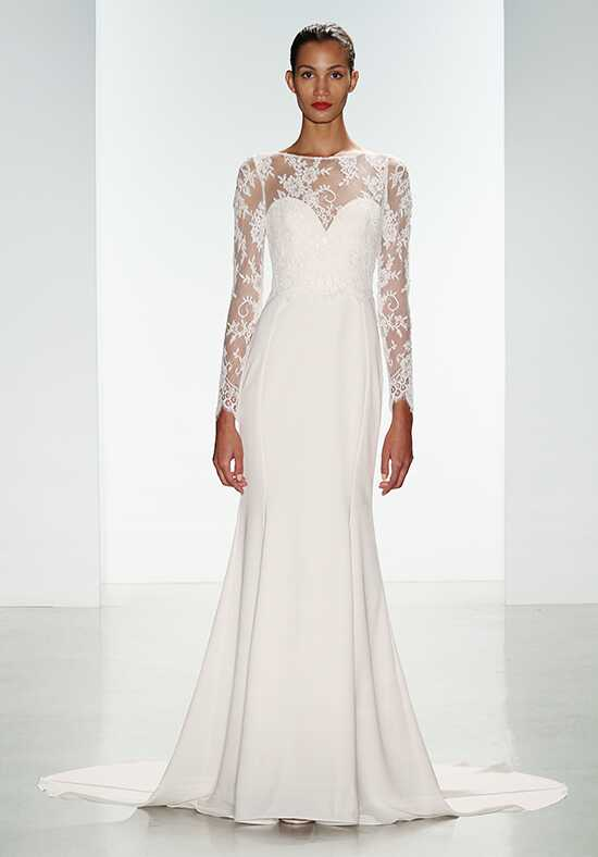 Nouvelle Amsale Noelle Sheath Wedding Dress