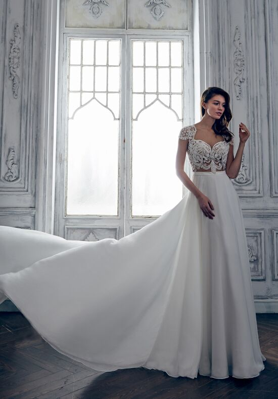 Calla Blanche 17127 Alexis A-Line Wedding Dress