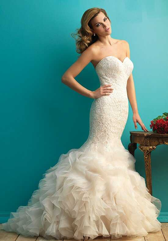 Allure Bridals 9254 Sheath Wedding Dress