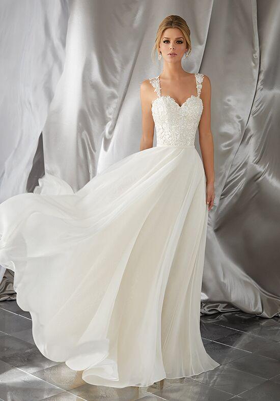 chiffon wedding dresses with sash