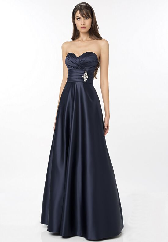 Bill Levkoff 787 Strapless Bridesmaid Dress