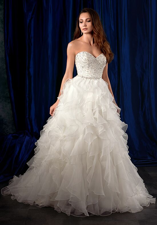 Alfred Angelo Sapphire Bridal Collection 981 Ball Gown Wedding Dress