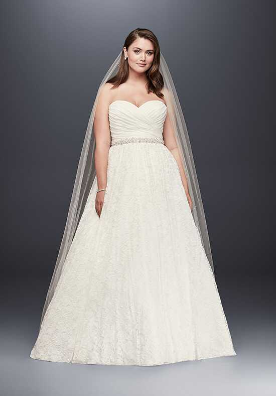 David's Bridal David's Bridal Collection Style 9WG3829 Ball Gown Wedding Dress
