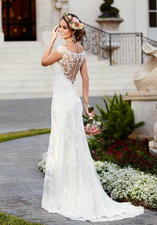 Stella York 6118 Mermaid Wedding Dress