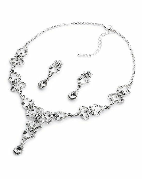 USABride Crystal Dynasty Jewelry Set JS-1627 Wedding Necklace photo