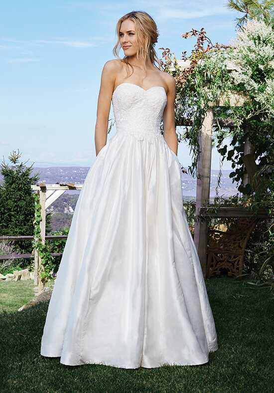 Lillian West 6436 Ball Gown Wedding Dress