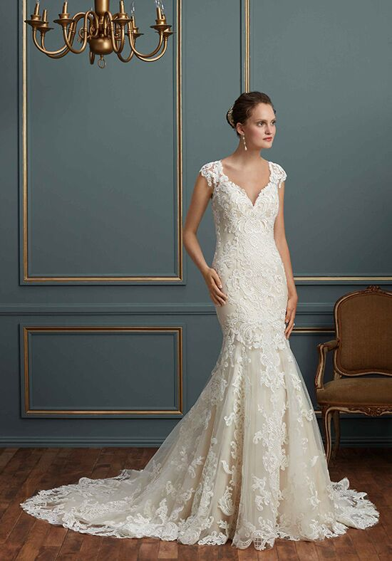 Amaré Couture by Crystal Richard C124 Anastasia Mermaid Wedding Dress