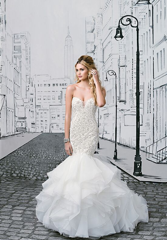 Justin Alexander 8901 Mermaid Wedding Dress