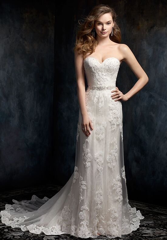 Kenneth Winston 1733 A-Line Wedding Dress