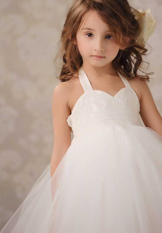 FATTIEPIE Anna Ivory Flower Girl Dress