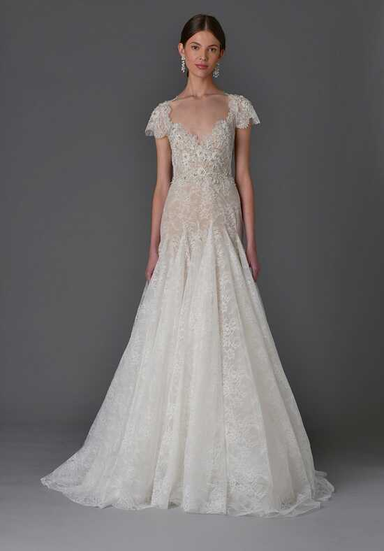 Marchesa Carnation A-Line Wedding Dress