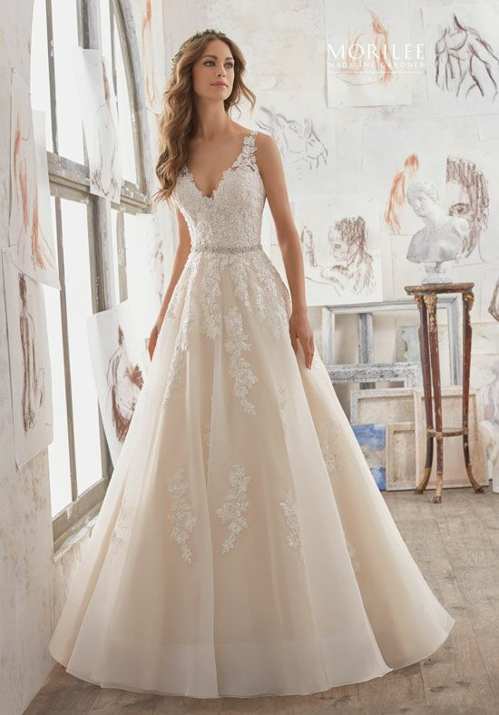 Morilee by Madeline Gardner/Blu 5510 A-Line Wedding Dress
