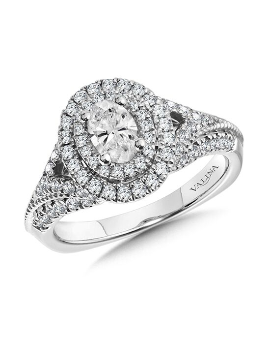 Valina Vintage Oval Cut Engagement Ring