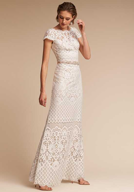 BHLDN Peridot Sheath Wedding Dress