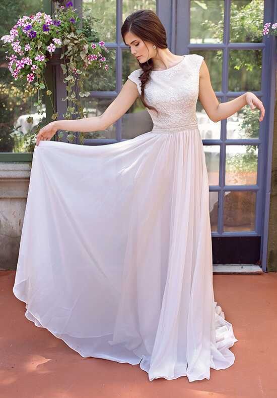 Modest by Mon Cheri TR11841 A-Line Wedding Dress