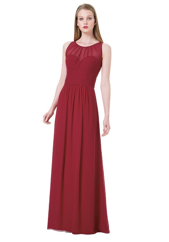 Bill Levkoff 1204 Illusion Bridesmaid Dress