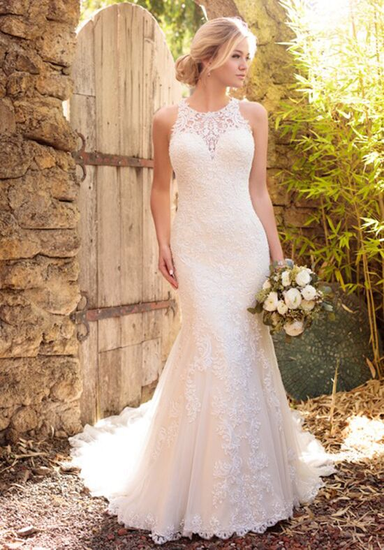 Essense of Australia D2174 Mermaid Wedding Dress