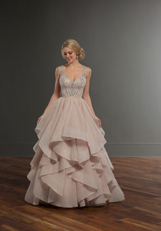 Martina Liana Chelle + Stevie Ball Gown Wedding Dress