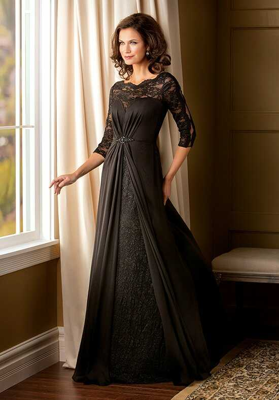 Jade Couture K178008 Black Mother Of The Bride Dress