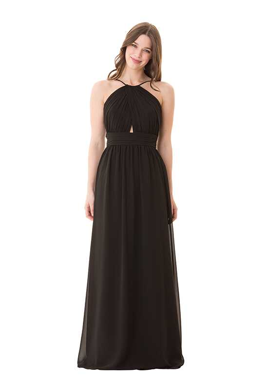 Bari Jay Bridesmaids 1678 Halter Bridesmaid Dress